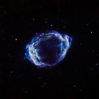Trigger for Milky Way's Youngest Supernova Identified | by NASA's Marshall Space Flight Center