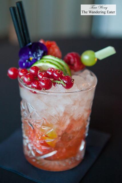 Fruity cocktal