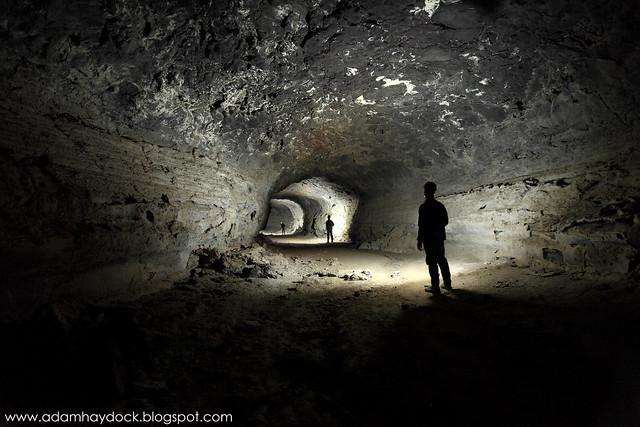 Gypsum cave