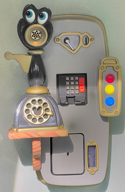 Push Button Phone in Toontown | Monthly Scavenger Hunt: Push