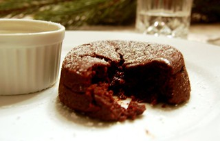 2006 Christmas Eve Dessert: Molten Chocolate Cake | by ulterior epicure