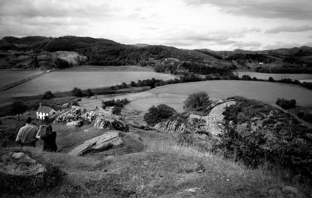 Iron age view from Fort Dunadd