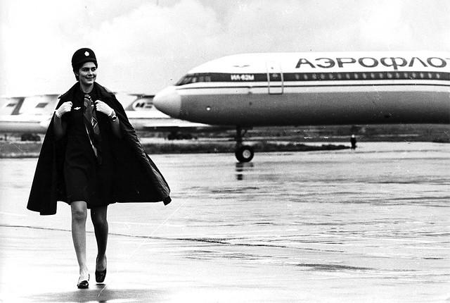 Soviet Air Hostess
