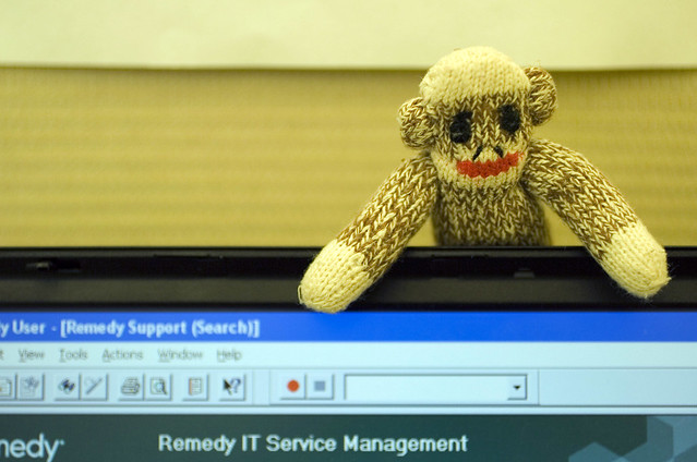 Bring Your Sock Monkey to Work Day