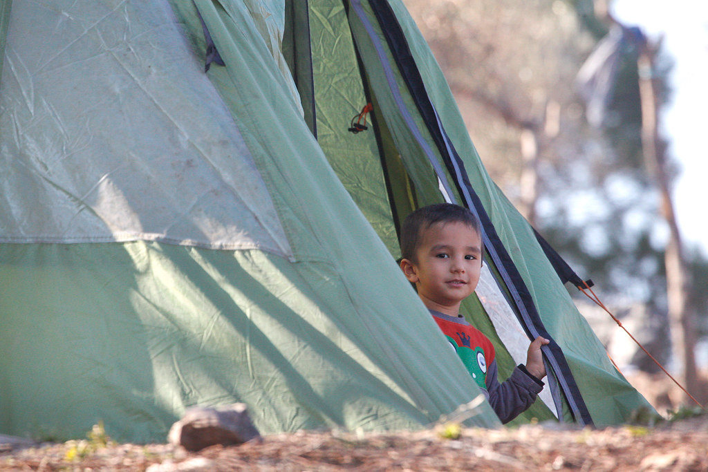 Refugee Child - Lesvos, Greece