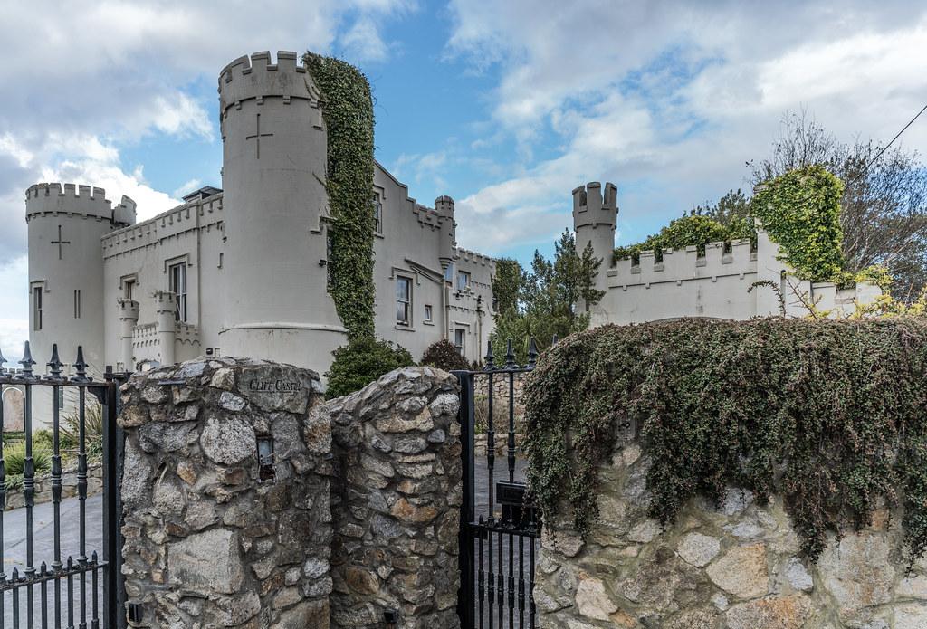 Manderley Castle In Dalkey Originally Victoria Castle A
