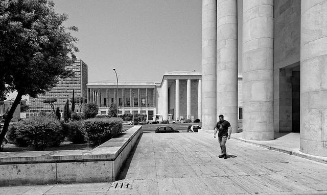 Rome - Europa : Mussolinian architecture  1/2