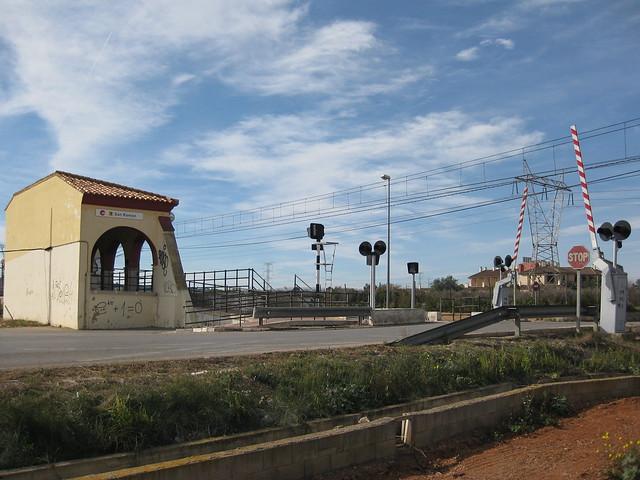 Apeadero Ferroviario de San Ramón. PICASSENT (Valencia)