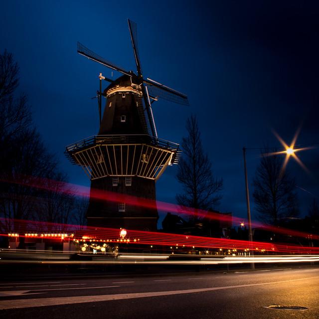 Amsterdam: De Gooyer Mill 04-02-2016