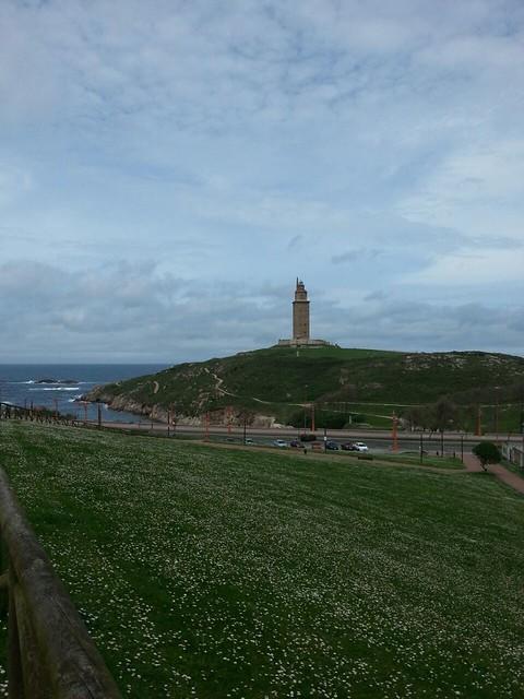 Torre o Faro de Hércules. La Coruña, Galicia (España).