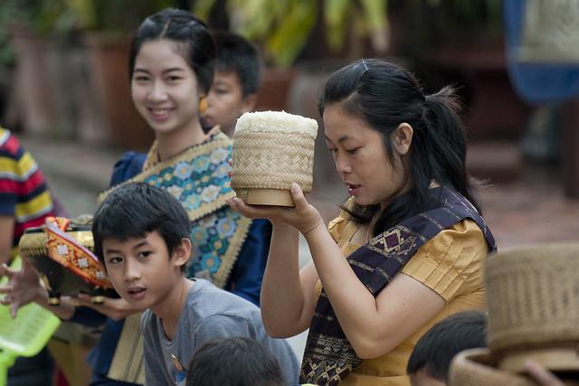 LAO249 Boun Khao Pansa - Luangprabang 190 - Laos