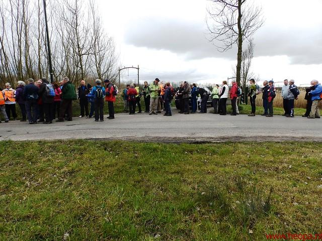 2016-03-23 stads en landtocht  Dordrecht            24.3 Km  (142)
