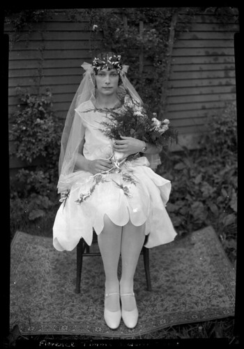 Florence Timms on her wedding day VPL 19017 | by Vancouver Public Library Historical Photographs