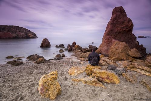 longexposure cliff seascape beach nature sunrise reflections landscape dawn sand rocks peace shadows purple tripod shoreline calm murcia ping cloudscape mazarrón canonef1635mmf4lisusm canoneos6d badstone