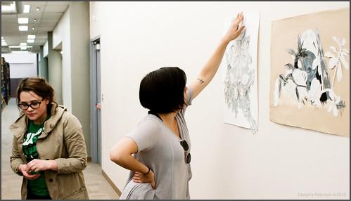Installing the art at CSEL