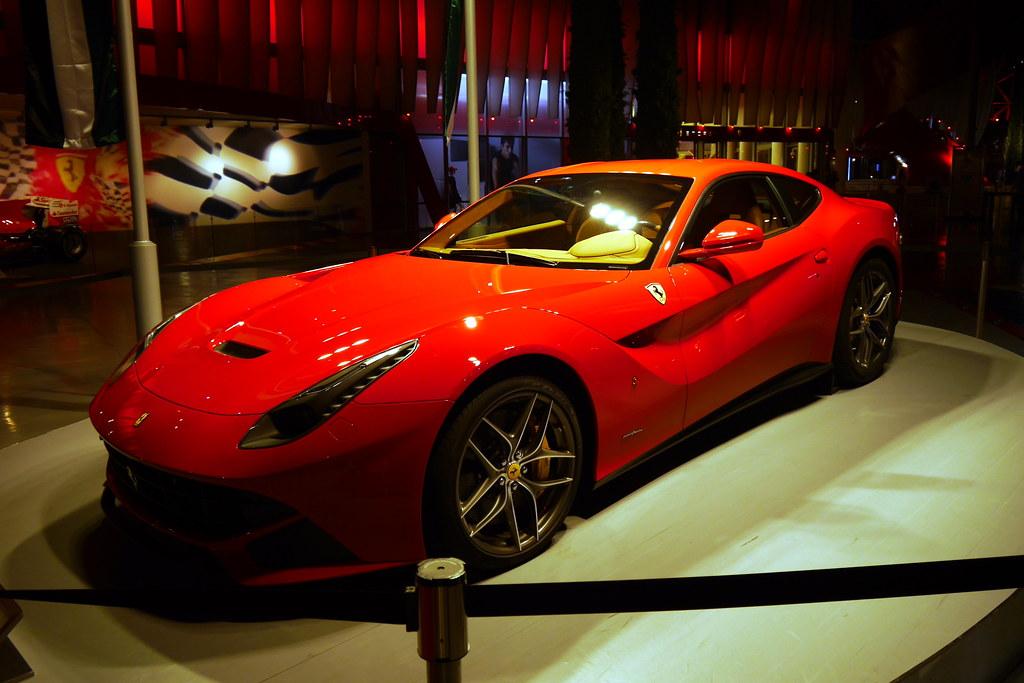 Obligatory Stop at Ferrari World