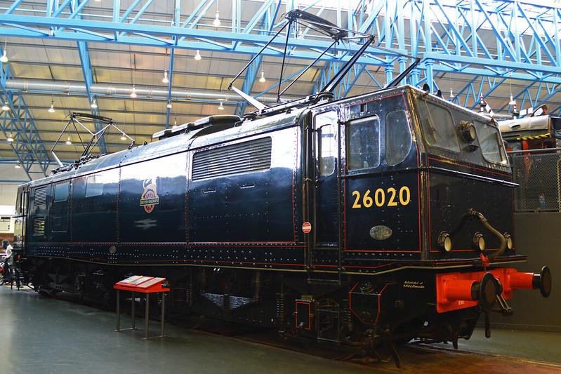 BR Class 76 (EM1) DC Electric '26020'