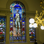 Sydney Town Hall glass-stained window