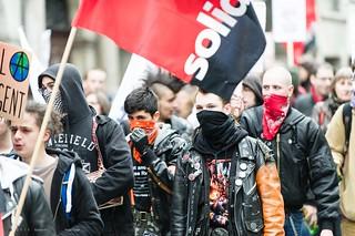 Manifestation contre le sommet des pilleurs et pollueurs   by DeGust