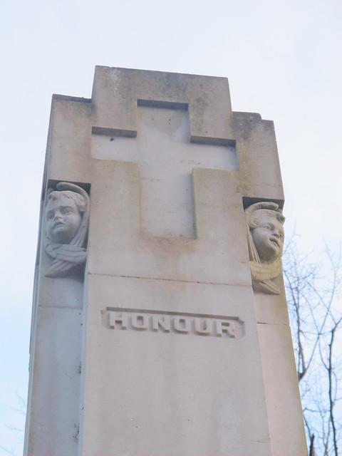 War Memorial Detail, Memorial Park Romsey SWC Walk 58 Mottisfont and Dunbridge to Romsey taken by Karen C.