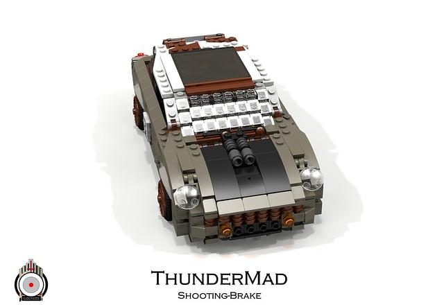 LUGNuts Custom ThunderMad Shooting-Brake Rat-Rod