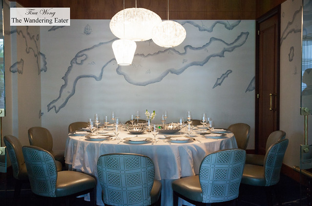 Blue by Eric Ripert - Private dining area