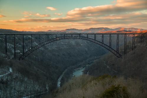 bridge snow canon landscape bridges wv westvirginia fayettevillewestvirginia sigma1770mmf2845dcmacro canon70d