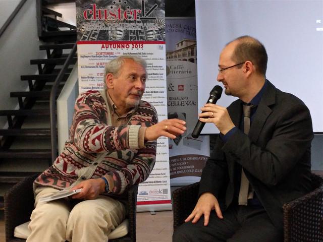2015 - Lucca -  Renzo Cresti presenta Herr Kompositor presso Luccalibri Libreria Caffè Letterario