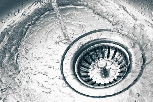 A Stainless Steel Kitchen Sink Drain | by aqua.mech