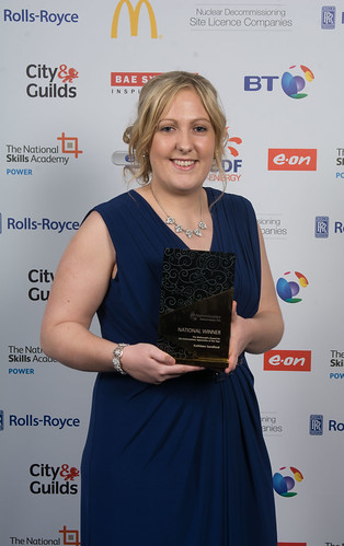 Kath Sandford - Intermediate Apprentice of the Year 2015 | by The Community Housing Group