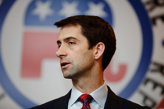 Senator of Arkansas Tom Cotton | by Michael Vadon