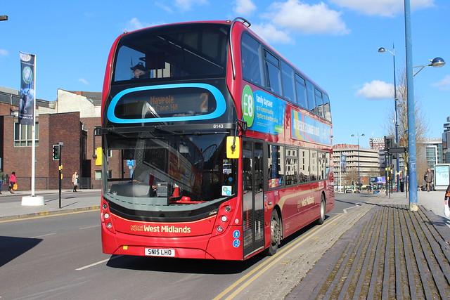 6143 SN15LHO National Express West Midlands