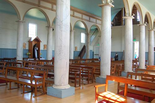 Iglesia de Nuestra Señora de los Dolores, Dalcahue, Chiloé, Chile | by blueskylimit