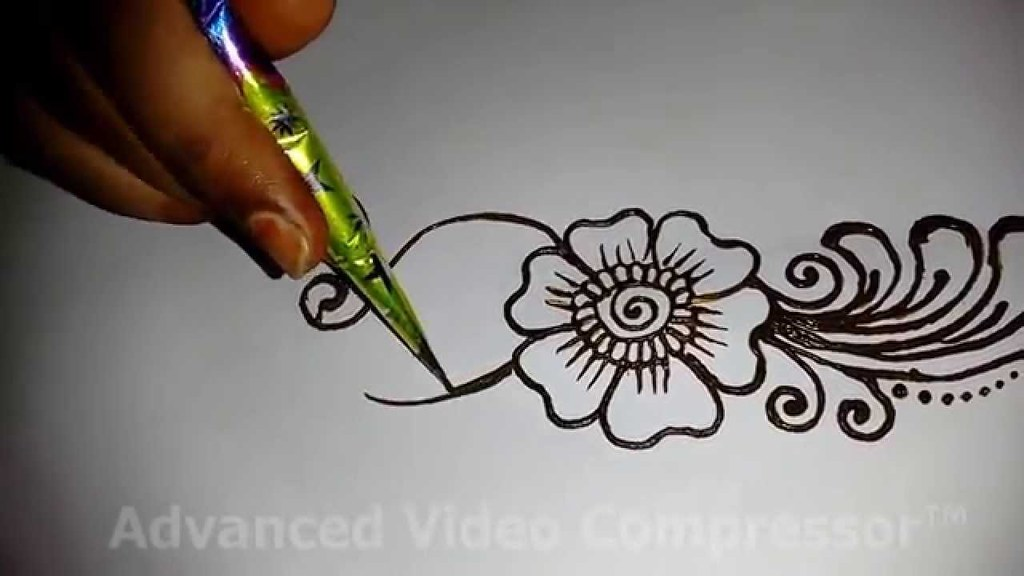 Easy Simple Beautiful Mehndi Design For Full Hands Matroj