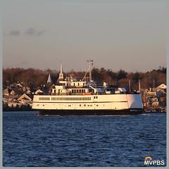 Down light ferry.  #Defrost #DeepGreensAndBluesAreTheColorsIChoose #SoPretty #SteamshipAuthority #Ferry #Boat #SoPretty #SunGoesToSleep #BringOnTheNight #OnTheWater #ImOnABoat #TisburyTown #VineyardHaven #MarthasVineyard #Massachusetts #NOfilter #NewEngla