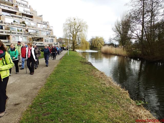 2016-03-23 stads en landtocht  Dordrecht            24.3 Km  (130)