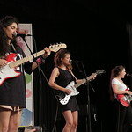 Fri, 18/03/2016 - 5:22pm - Hinds  Live at SXSW Radio Day Stage Powered By VuHaus, 3/18/16 Photographer: Michael Sperling