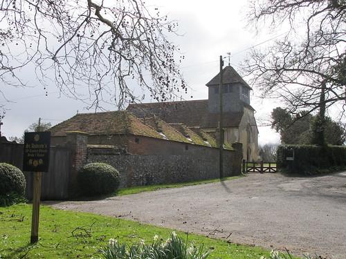 St. Andrew's, Mottisfont SWC Walk 58 Mottisfont and Dunbridge to Romsey taken by Karen C.