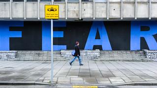 FEAR - Dublin, Ireland - Color street photography | by Giuseppe Milo (www.pixael.com)