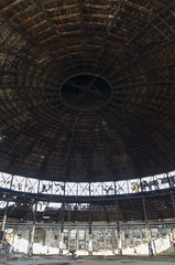 Inside the abandoned roundhouse, 22.07.2014.