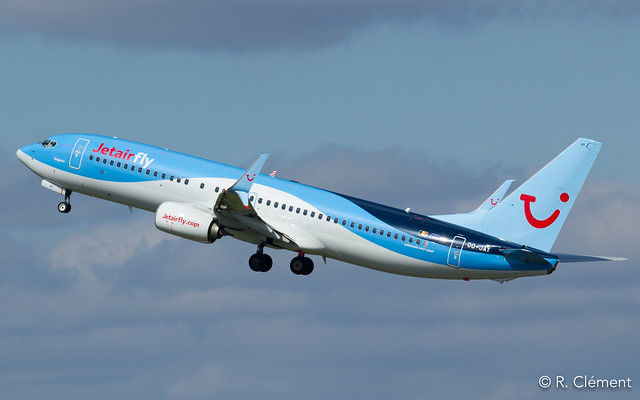 Boeing  737-8K5 - OO-JAY - JetairFly - MSN 40944 - (ORY-LFPO)