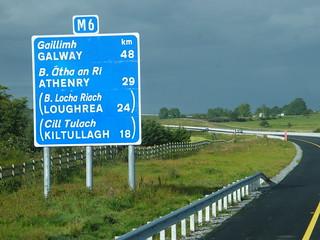 Camino a Galway (Irlanda).