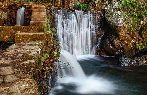 longexposure portugal water água stairs canon steps escada represa lousã degraus exposiçãolonga azenha pedronascimento