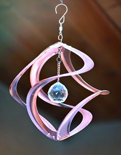 Copper Wind Ornament