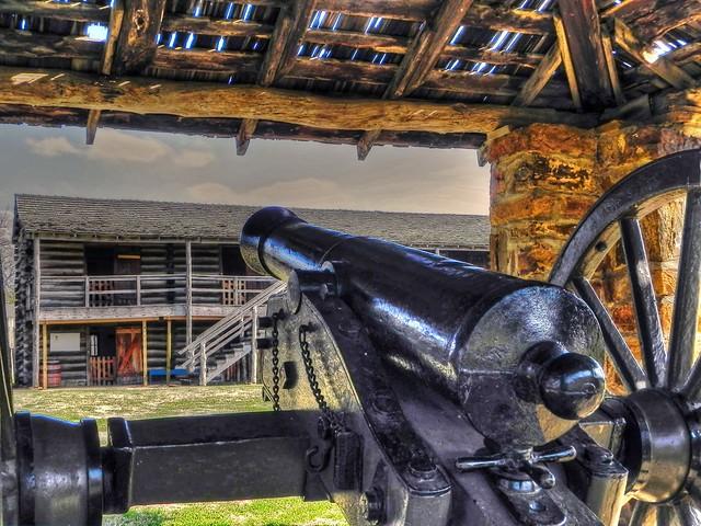 Fort Gibson Stockade 1