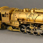 Duluth, Missabi & Iron Range RR - N-3 2-8-2 by Fujiyama for Northwest Short Line - HO Brass Steam Locomotive