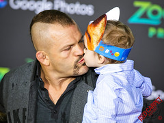 Randy Couture at the Premiere of Disney's Zootopia - 2E7A7924