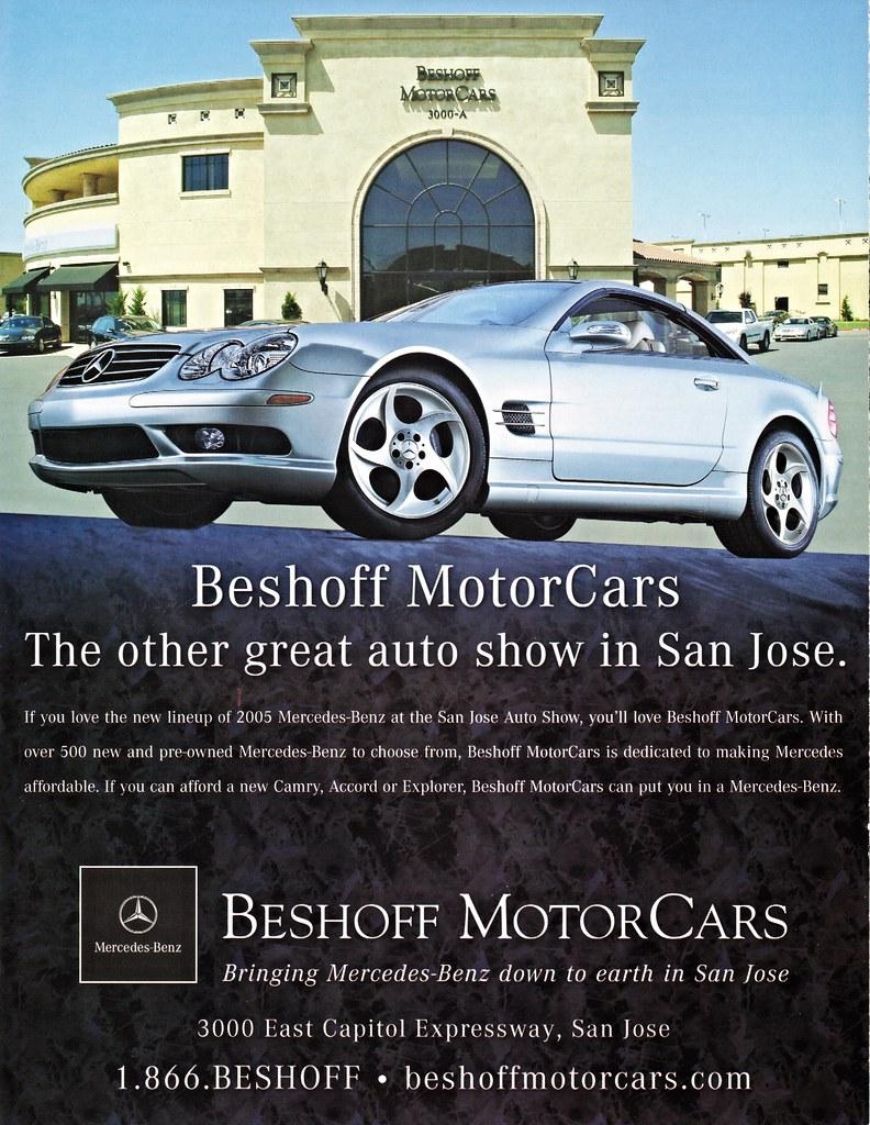 Mercedes San Jose >> Beshoff Motorcars San Jose Ca Mercedes Benz 2005 Ad Flickr