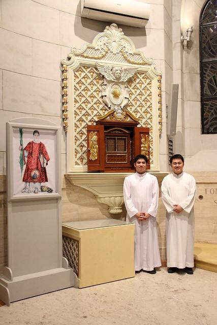 Cattedrale di Manila, Esposizione dell'icona di San Cesario diacono