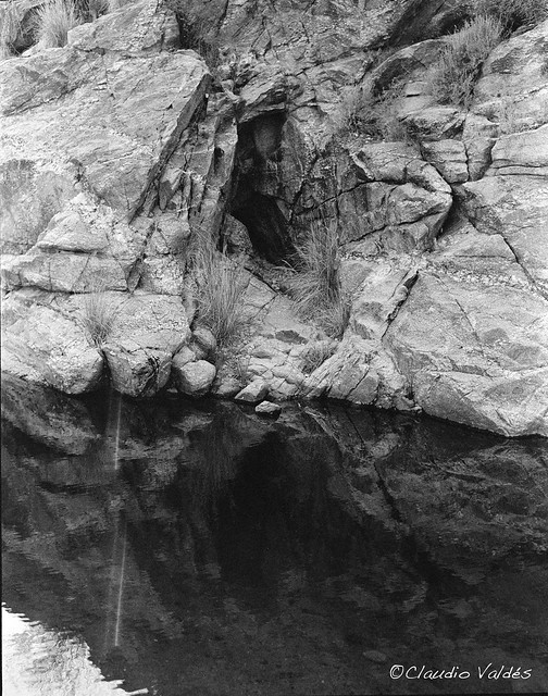 The Face in the Cave